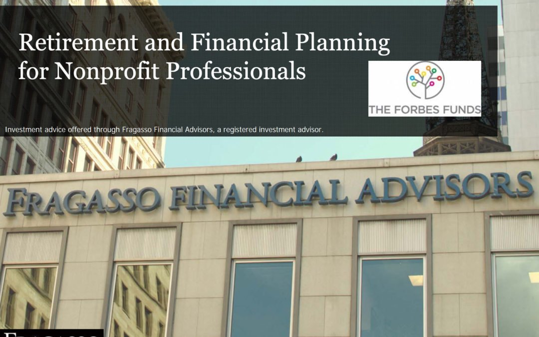Retirement and Financial Planning for Nonprofit Professionals