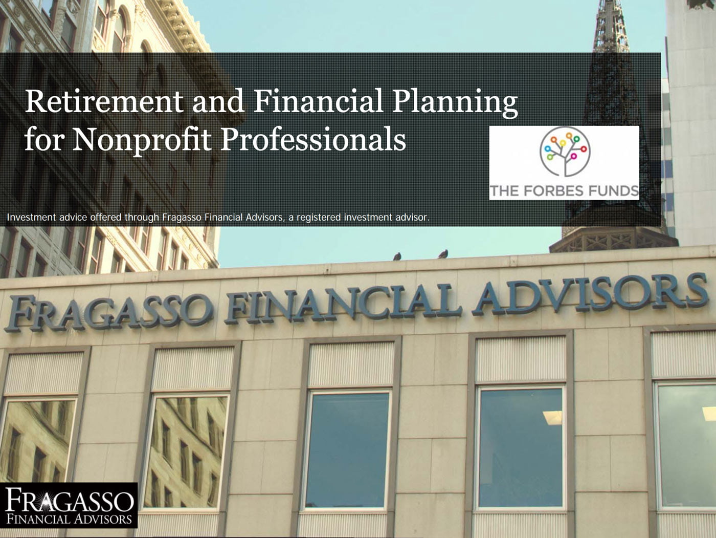 Financial Planning and Retirement for Nonprofit Professionals
