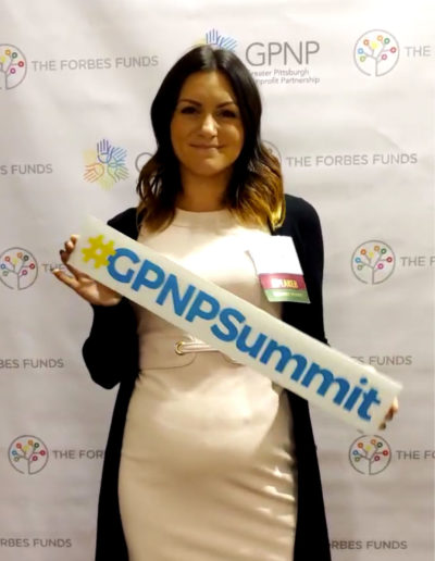 Dr. Hannah Karolak at the GPNP Summit 2019