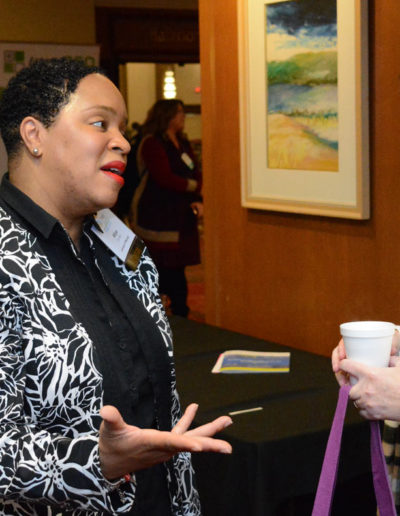 GPNP Member discusses with nonprofit collegue